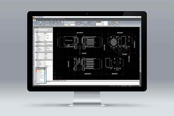 CMS IntelliCAD software cad .dwg compativel
