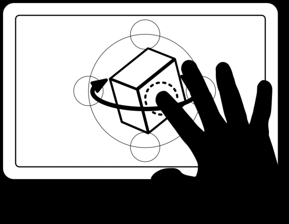 Vista orbitar 3D